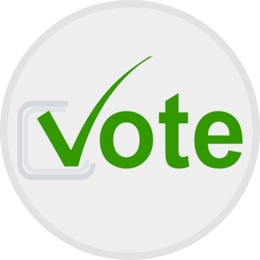 Vote button green
