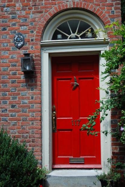 IAC logo image Red door