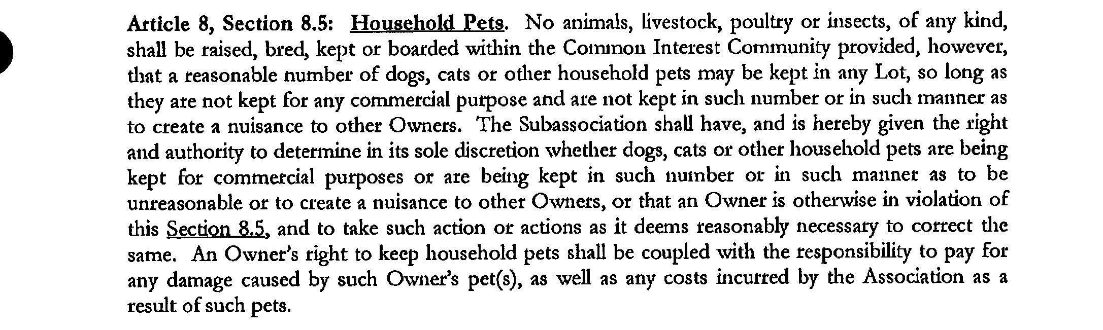 Dont count on your hoa to enforce nuisance rules independent surely thought neil allowing ones dog to bark continuously for hours at a time could be considered a nuisance therefore the hoa should intervene and spiritdancerdesigns Images