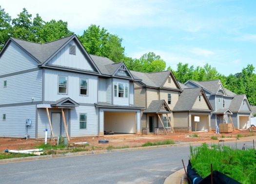 Townhouses new construction