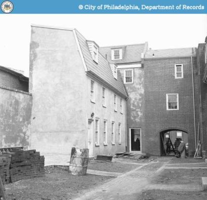 Clymer Court HOA Philadelphia, PA. Public records depict historical construction circa 1960-1970.