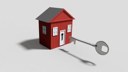 Real estate home buyer key