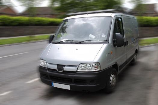 Work-van-truck